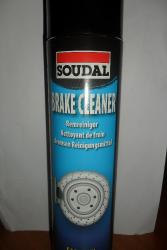 Brake cleaner soudal 600 ML